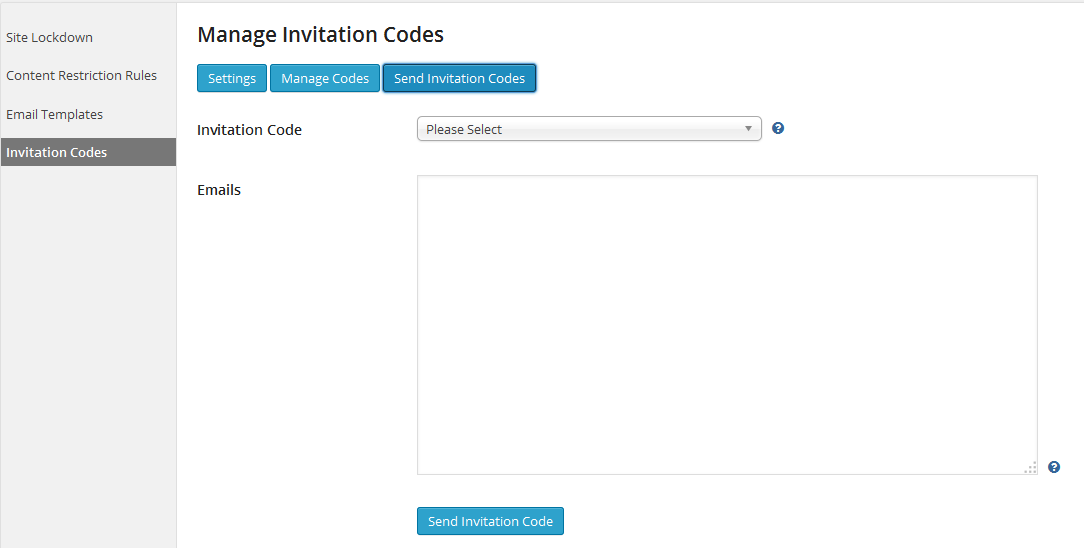 Invitation codes addon user profiles made easy upme registration form will contain a special field called invitation code users wont be allowed to register without proper invitation code stopboris Images