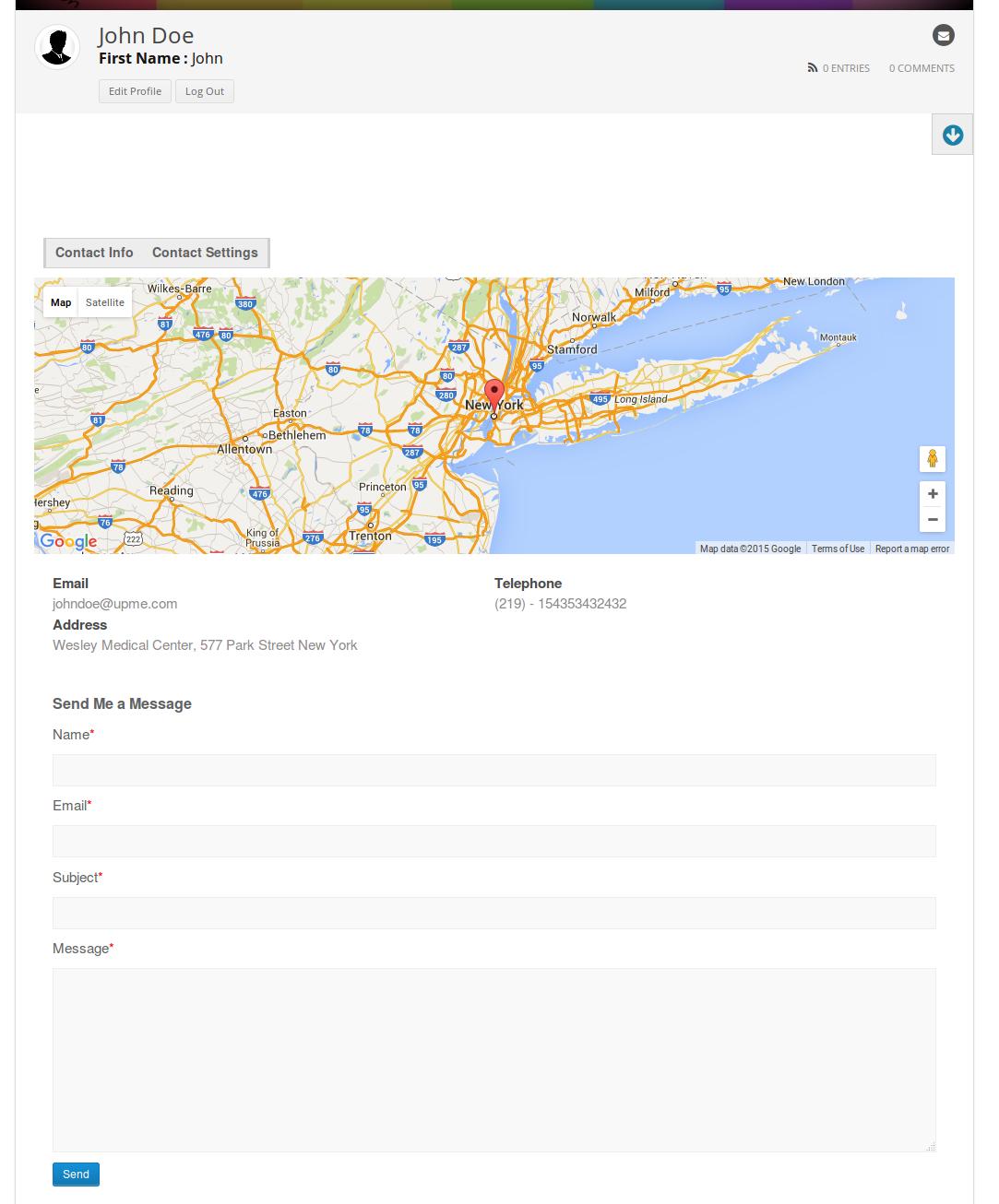 User Profiles Made Easy - WordPress Plugin 253