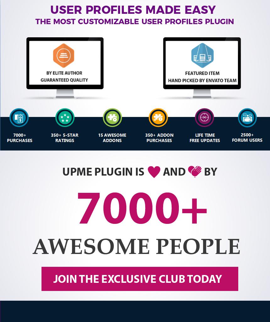 User Profiles Made Easy - WordPress Plugin 8