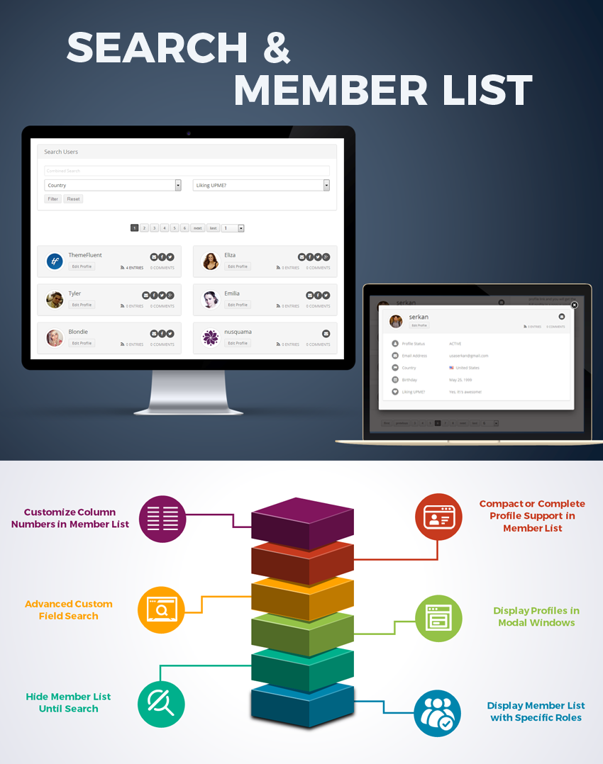 User Profiles Made Easy - WordPress Plugin 16